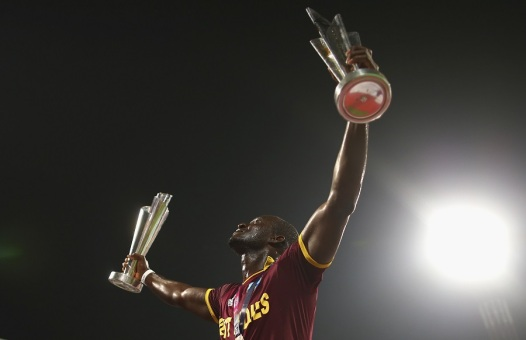 Darren Sammy became the only captain to win two World T20 titles